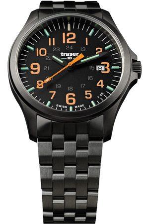 Traser H3 Reloj analógico 107870, Quartz, 42mm, 10ATM para hombre