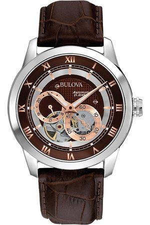 BULOVA Reloj analógico 96A120, Automatic, 42mm, 3ATM para hombre