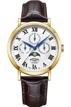 Rotary Reloj analógico GS05328/01, Quartz, 40mm, 5ATM para hombre