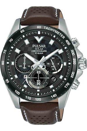 Pulsar Reloj analógico PZ5109X1, Quartz, 45mm, 10ATM para hombre