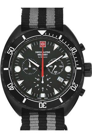 Swiss Alpine Military Reloj analógico 7066.9677, Quartz, 44mm, 10ATM para hombre