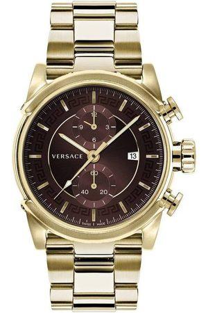 VERSACE Reloj analógico VEV400619, Quartz, 44mm, 5ATM para hombre