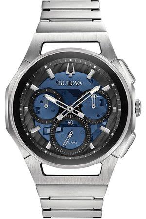 BULOVA Reloj analógico 96A205, Quartz, 44mm, 3ATM para hombre