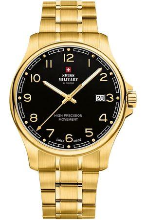 CHRONO Reloj analógico SM30200.22, Quartz, 39mm, 5ATM para hombre