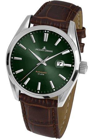 Jacques Lemans Reloj analógico 1-1846C, Automatic, 42mm, 10ATM para hombre