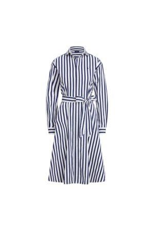 Polo Ralph Lauren Mujer Casual - Vestido camisero de algodón a rayas