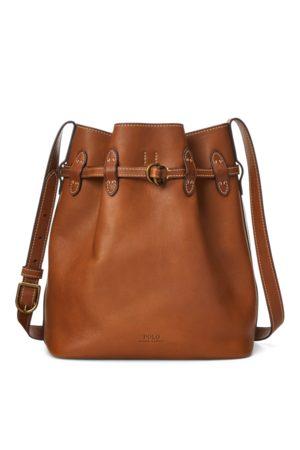 Polo Ralph Lauren Mujer Bolsos - Bolso de piel grande con cordón