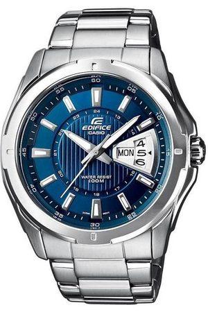 Casio Reloj analógico EF-129D-2AVEF, Quartz, 45mm, 10ATM para hombre
