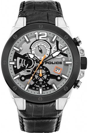 Police Reloj analógico PL15711JSTB.04, Quartz, 47mm, 5ATM para hombre