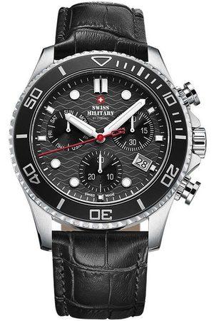 CHRONO Reloj analógico SM34051.04, Quartz, 46mm, 10ATM para hombre