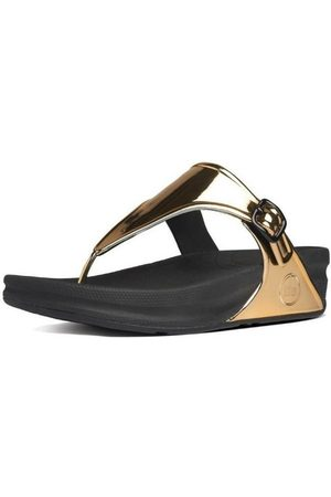 FitFlop Sandalias SUPERJELLY TM METALLIC - GOLD MIRROR para mujer
