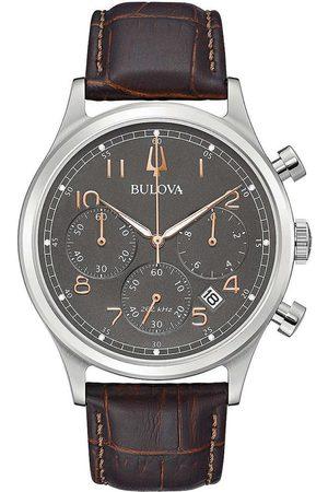 BULOVA Reloj analógico 96B356, Quartz, 43mm, 3ATM para hombre