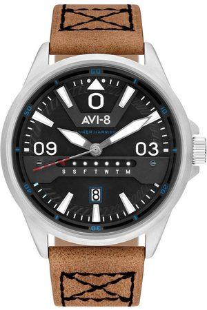 Avi-8 Reloj analógico AV-4063-01, Quartz, 44mm, 5ATM para hombre