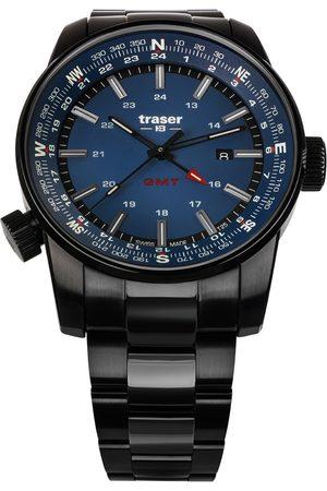 Traser H3 Reloj analógico 109524, Quartz, 46mm, 10ATM para hombre
