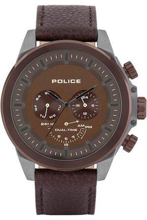 Police Reloj analógico PL15970JSUBZ.12, Quartz, 52mm, 5ATM para hombre