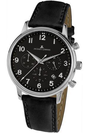 Jacques Lemans Reloj analógico N-209ZI, Quartz, 40mm, 5ATM para hombre