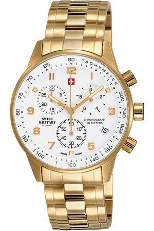CHRONO Reloj analógico SM34012.03, Quartz, 41mm, 5ATM para hombre