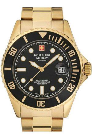 Swiss Alpine Military Reloj analógico 7053.1117, Quartz, 42mm, 10ATM para hombre