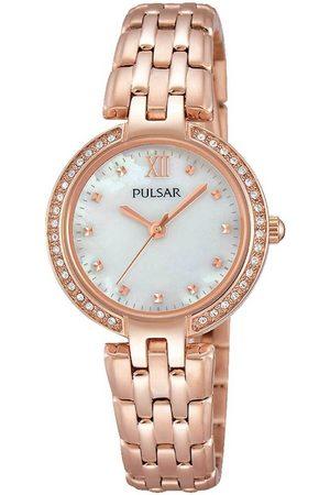 Pulsar Reloj analógico PH8168X1, Quartz, 28mm, 3ATM para mujer