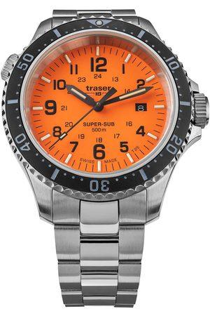 Traser H3 Reloj analógico 109381, Quartz, 46mm, 50ATM para hombre
