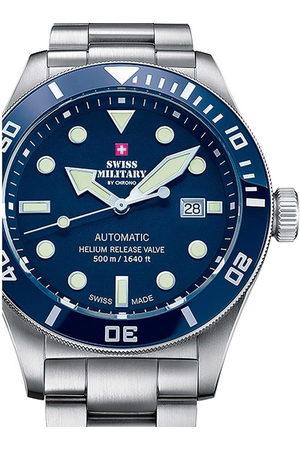 CHRONO Reloj analógico SMA34075.02, Automatic, 44mm, 50ATM para hombre