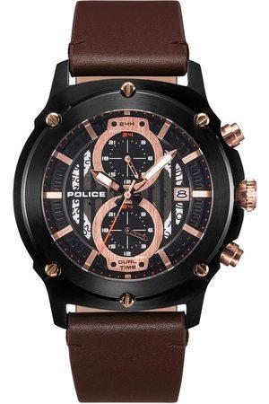 Police Reloj analógico PL15917JSB.02A, Quartz, 47mm, 5ATM para hombre