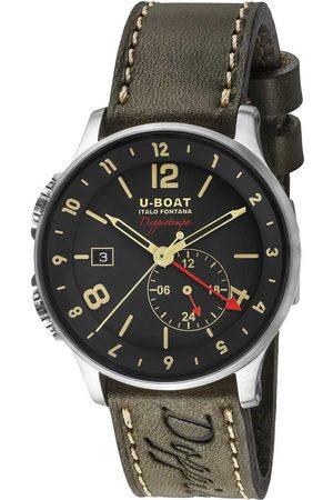U-BOAT Hombre Relojes - Reloj analógico 8400/A, Automatic, 43mm, 10ATM para hombre