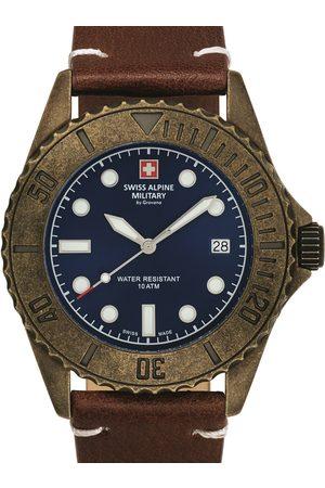 Swiss Alpine Military Reloj analógico 7051.1585, Quartz, 41mm, 10ATM para hombre