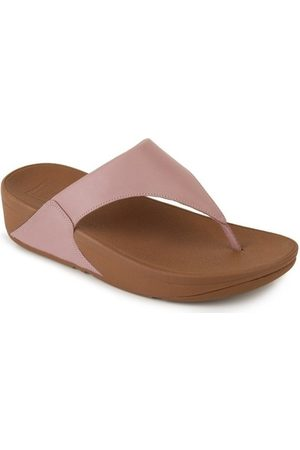 FitFlop Chanclas LULU TM LEATHER TOEPOST - DUSTY PINK para mujer
