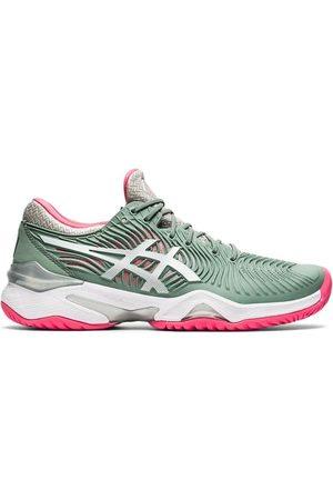 Asics Zapatillas de running COURT FF 2 GRIS BLANCO MUJER 1042A076 021 para mujer