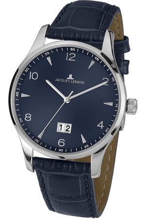 Jacques Lemans Reloj analógico 1-1862ZC, Quartz, 40mm, 10ATM para hombre