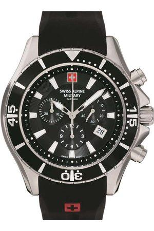 Swiss Alpine Military Reloj analógico 7040.9837, Quartz, 45mm, 10ATM para hombre