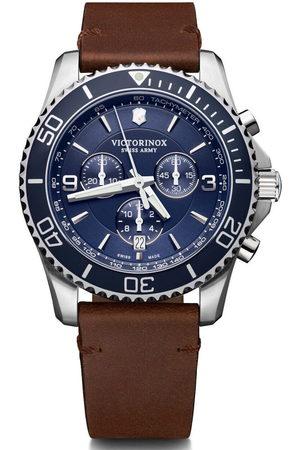 Victorinox Reloj analógico 241865, Quartz, 43mm, 10ATM para hombre