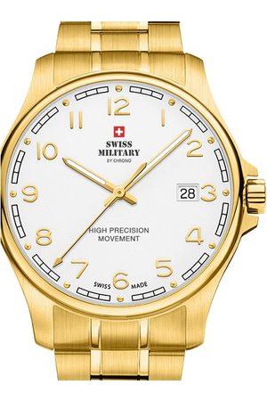 CHRONO Reloj analógico SM30200.23, Quartz, 39mm, 5ATM para hombre