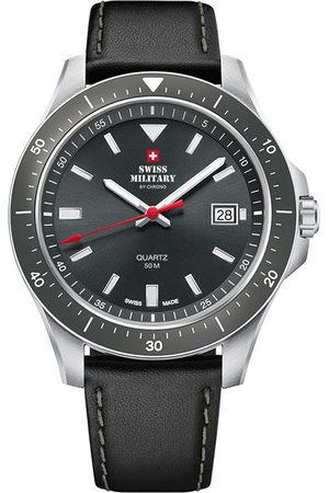 CHRONO Reloj analógico SM34082.06, Quartz, 42mm, 5ATM para hombre