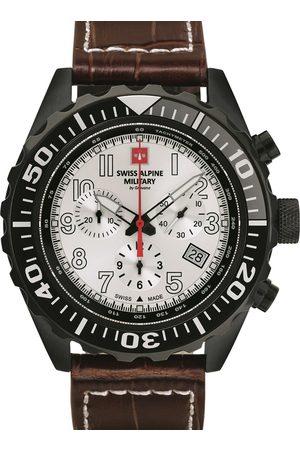 Swiss Alpine Military Reloj analógico 7076.9572, Quartz, 44mm, 10ATM para hombre