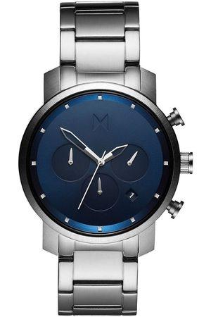 MVMT Reloj analógico MC02-SBLU, Quartz, 40mm, 5ATM para hombre