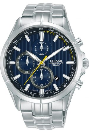 Pulsar Reloj analógico PM3157X1, Quartz, 43mm, 10ATM para hombre