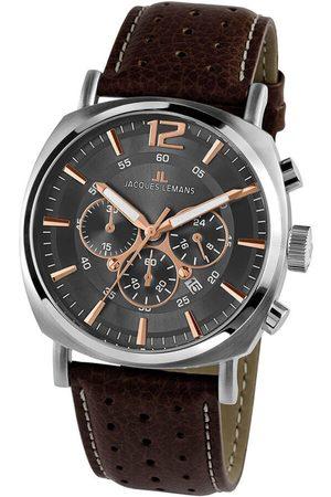 Jacques Lemans Reloj analógico 1-1645.1H, Quartz, 46mm, 10ATM para hombre