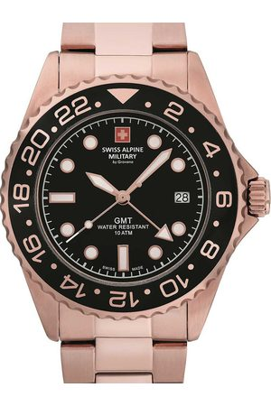 Swiss Alpine Military Reloj analógico 7052.1167, Quartz, 42mm, 10ATM para hombre