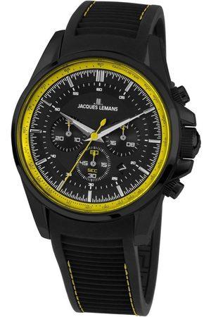 Jacques Lemans Reloj analógico 1-1799S, Quartz, 44mm, 10ATM para hombre