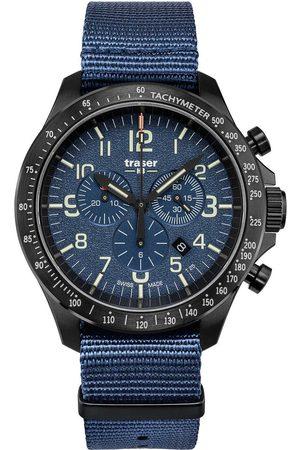 Traser H3 Reloj analógico 109461, Quartz, 46mm, 10ATM para hombre