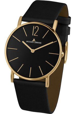 Jacques Lemans Reloj analógico 1-2030D, Quartz, 40mm, 5ATM para hombre