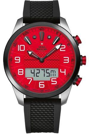 CHRONO Reloj digital SM34061.02, Quartz, 45mm, 10ATM para hombre