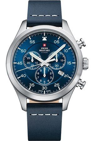 Swiss Military By Chrono Reloj analógico SM34076.05, Quartz, 43mm, 10ATM para hombre