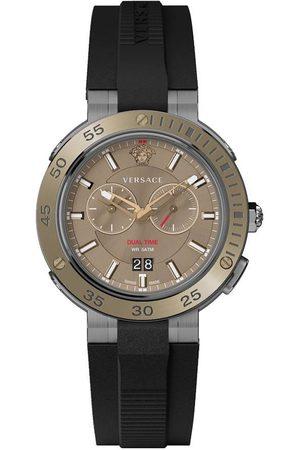 VERSACE Reloj analógico VECN00319, Quartz, 46mm, 5ATM para hombre