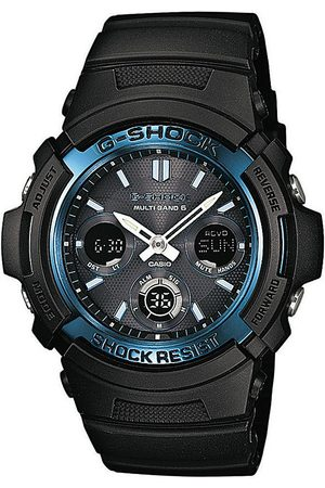 Casio Reloj digital AWG-M100A-1AER, Quartz, 46mm, 20ATM para hombre