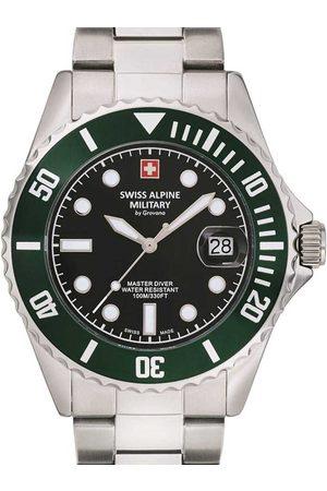 Swiss Alpine Military Reloj analógico 7053.1133, Quartz, 42mm, 10ATM para hombre