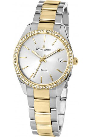Jacques Lemans Reloj analógico 1-2085F, Quartz, 30mm, 10ATM para mujer