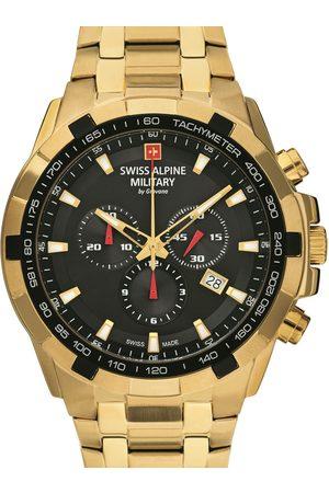 Swiss Alpine Military Reloj analógico 7043.9117, Quartz, 46mm, 10ATM para hombre